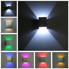 LED wall light High Power LED Up Down Wall Lamp Spot Light Sconce Lighting