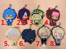 DRAMAtical Murder DMMd Anime Game Rubber Strap Keychain Phone Charm 1 pcs