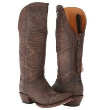 Lucchese Ladies 1883 Vera Distressed Cowgirl Boots M4910 New