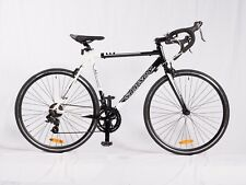 SAMSON CYCLES 14-SPEED BLACK/WHITE DROP BAR ROAD BIKE