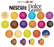 NEW Nescafe Dolce Gusto Capsules YOU PICK THE FLAVOR & SIZE