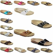 Birkenstock Classic Madrid - contoured footbed, Narrow - many Colors NEW Germany
