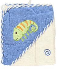 """Luvable Friends """"Baby Lizard"""" Hooded Towel & Wash Cloth"""