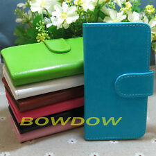 New Crystal grain credit ID card slot flip case cover For Lenovo phone