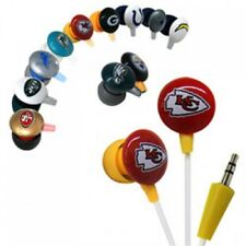 Official Licensed iHip NFL High Performance Noise-Isolating Earphones