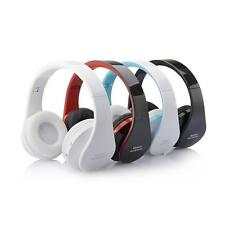 Foldable Wireless Stereo Bluetooth Headset Headphone For iPhone Cellphone Laptop