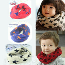 Fashion Kids Boy Girl Knitted Woolen Autumn Spring Winter Warmer Scarf Snood