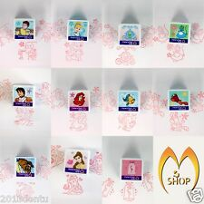 Cinderella Little Mermaid Beauty and the Beast Cartoon Disney Rubber Stamper New