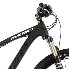 2X Personalised Frame Name for Mountain bike Cycle. Custom Stickers Decals m37