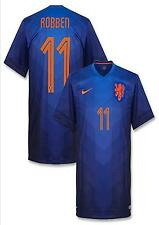 NIKE A. ROBBEN NETHERLANDS AUTHENTIC AWAY JERSEY WORLD CUP BRAZIL 2014 HOLLAND