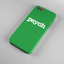 Psych Logo Green For iPhone 5s 5 4S 4 Hard Case Cover
