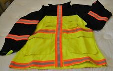 NEW PGI Fireline Safety Gear Wildland Fire Fighting Jacket Reflective Yellow