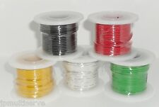 One 25ft Roll Electrical Wire 22g Stranded Core 22awg