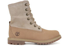 Timberland Earthkeeper Canvas Fold-Down 8037B New Womens Off White Boots Shoes