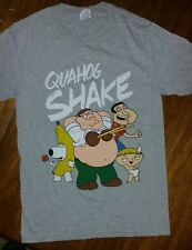 New--FAMILY GUY T SHIRT-- The QUAHOG SHAKE SHIRT LICENSED MERCHANDISE