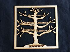 FAMILY TREE - UP TO 8 NAMES
