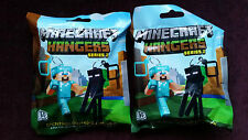 "Minecraft 3D Hangers Series 2 - 3"" Keychain, Keyring, Choose Your Bag Belt Clip"