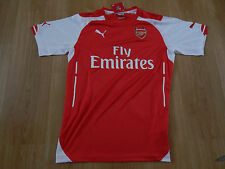 Arsenal Puma Home shirt 2014/2015 Football club Replica short sleeve climacool t