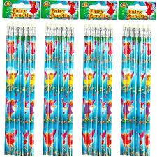 Fairy Theme Pencils with Eraser Childrens Birthday Party Bag Fillers