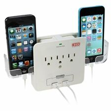 EZOPower UL Certified Wall Mount Power Surge Protector Charging Station