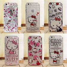 Fashion Disney Cartoon Crystal Soft TPU Rubber Case Cover For iPhone 6/6 Plus 5S