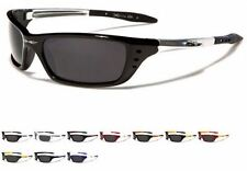 X-LOOP WRAP SPORTS BIKER CYCLING GOLF QUALITY SHADES SUNGLASSES XL149 NEW