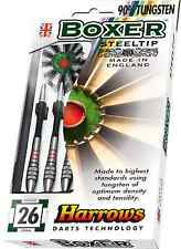 Darts - Steel Tip 90% Tungsten Darts - Harrows Boxer - Available in 21g - 29g
