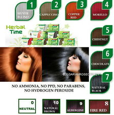 100%  NATURAL HENNA COLOUR CREAM /HERBAL HAIR COLORANT  DYE READY TO USE 75 ML