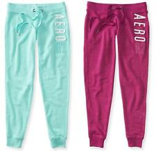 AERO 87 Aeropostale logo Jogger Sweat Pants Gym Lounge Track Knit S,M,L,XL,2XL