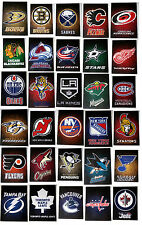 NHL Hockey Magnets Team Logos Indoor Use Only Choose your team - Pack of 2