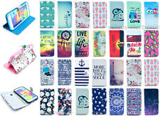 Card Holder Wallet Flip Leather Case Cover Housing Protector For Samsung Galaxy