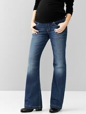 GAP Maternity 1969 Demi Panel Long and Lean Jeans 26,27,28,29,30,31,32,33,34 NEW