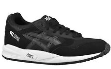 ASICS GEL-SAGA BLACK/BLACK RUNNING SHOES MEN'S SELECT YOUR SIZE