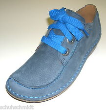 Clarks Funny Dream Women's Business Low shoe Lace up 26105914 blue Leather