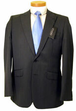 JEFF BANKS BLACK (DEEP CHARCOAL) SINGLE BREASTED MENS JACKET RRP £140 BRAND NEW