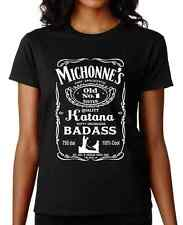 MICHONNE Walking Dead TWD sexy katana TV zombie show awesome hero comic alcohol