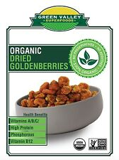 Organic Dried Incan Gooseberries Goldenberries