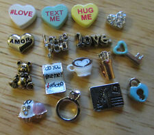 Origami Owl Many Charms to Choose From. NEW!!! Love & Valentines Day Charms!