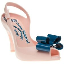 New Womens Vivienne Westwood And Melissa Pink Lady Dragon Plastic Sandals Jelly
