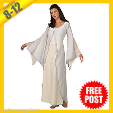 Ladies Costume Fancy Dress Up RD Licensed Lord of the Rings Arwen Deluxe 8 10 12