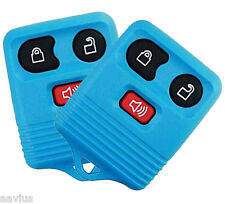 Best Replacement Keyless Entry Remote 3 Button Key Fob For Ford Car Truck L-BLUE
