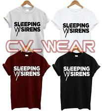 SLEEPING WITH SIRENS T SHIRT MUSIC ROCK BAND HARDCORE INDIE ALBUM TOUR UNISEX