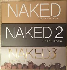 NEW URBAN DECAY NAKED PALETTE 1 2 3 EYE SHADOW MAKEUP KIT PROFESSIONAL BOX