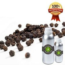 BLACK PEPPER OIL - UNDILUTED - 100% PURE NATURAL ESSENTIAL OIL 6 ML TO 125 ML