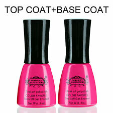 8ml Perfect Summer Top Coat Base Gel Primer Shiny Sealer Glue For Nail Polish