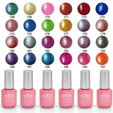 8ml Perfect Summer Soak Off Nail Gel Polish Glitter Varnish UV LED Manicure Tips