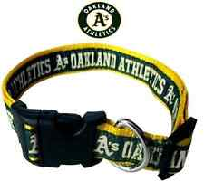 MLB Fan Gear OAKLAND ATHLETICS Nylon Collar for Dog Dogs Puppy Puppies