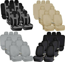 PREMIUM Complete Full Set 3 Row 7 Passangers Double Stitched SUV VAN Seat Covers