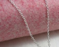 """""""O"""" Chain Necklace -- Sterling Silver -- 16"""" 18"""" 20"""" 22"""" 24"""" 26"""" 28"""" 30""""  [BF]"""
