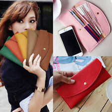 High Fashion women Envelope Purse Clutch Credit Card Hand Bag Wrist Wallet totes